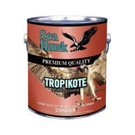 Sea Hawk Tropikote Black Paint, Gallon