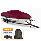 """20'5"""" max. length Covermate Imperial Pro Fish and Ski Boat Cover"""