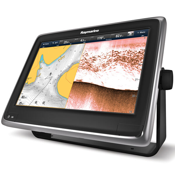 """Raymarine a128 12.1"""" MFD With CHIRP/DownVision And US LNC Vector Charts"""