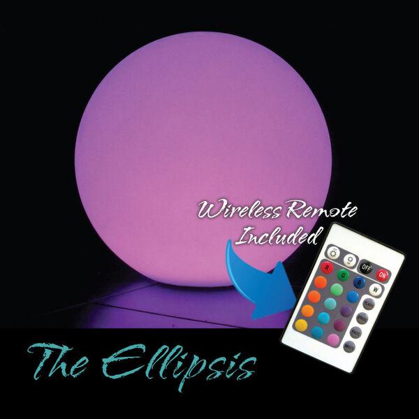 """""""The Ellipsis"""" LED Illuminated Floating Ball"""