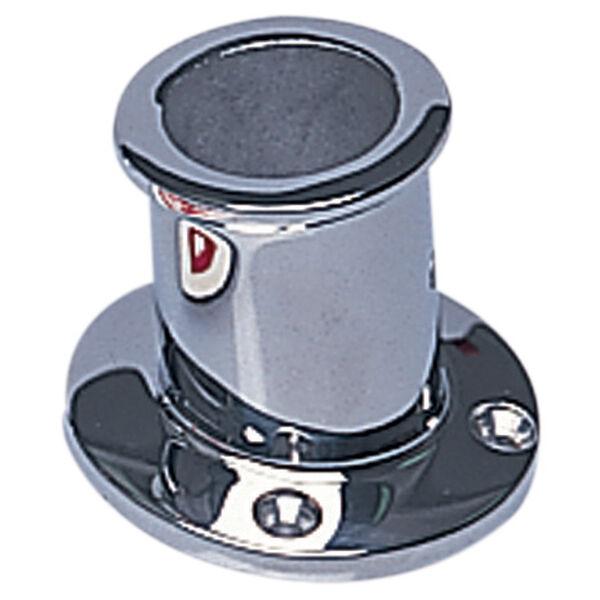 "1"" Stainless Steel Flag Pole Socket"
