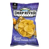 Deep River Snacks Sweet Maui Onion Kettle-Cooked Potato Chips, 5 oz.