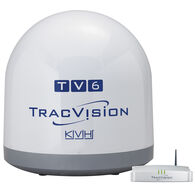 KVH TracVision TV6 Marine Satellite Television Antenna With Auto Skew And GPS