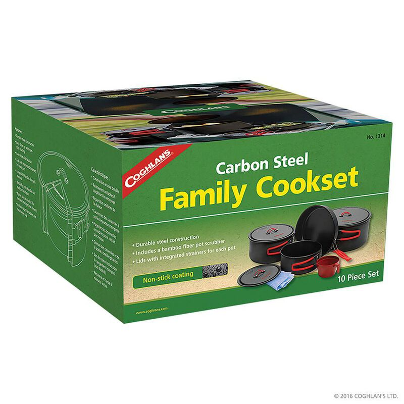 Coghlan's Carbon Steel Family Cookset image number 2