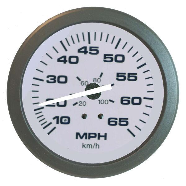 "Sierra Driftwood 3"" Speedometer, 65 MPH"