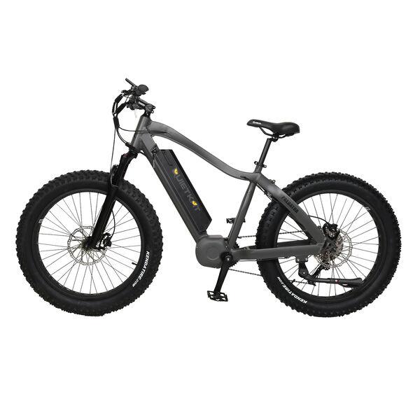"QuietKat Predator 750-Watt Electric Mountain Bike 17"", Charcoal"