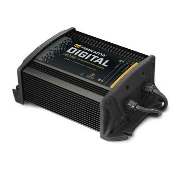 Minn Kota MK-210D Digital Onboard Charger, 2 Banks/10 Amps Total Output