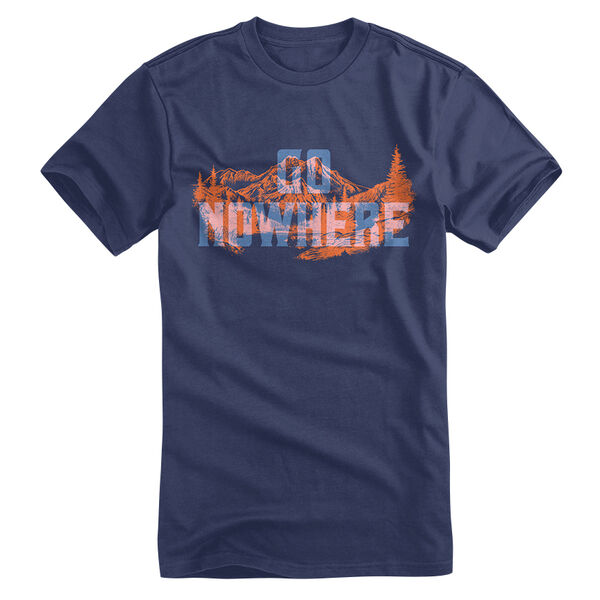 Points North Men's Go Nowhere Short-Sleeve Tee