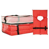 Four Type II Adult Life Jackets With Storage Bag