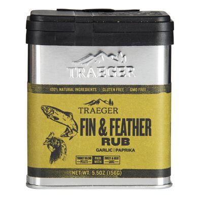 Traeger Fin & Feather Rub, 5.5 oz.
