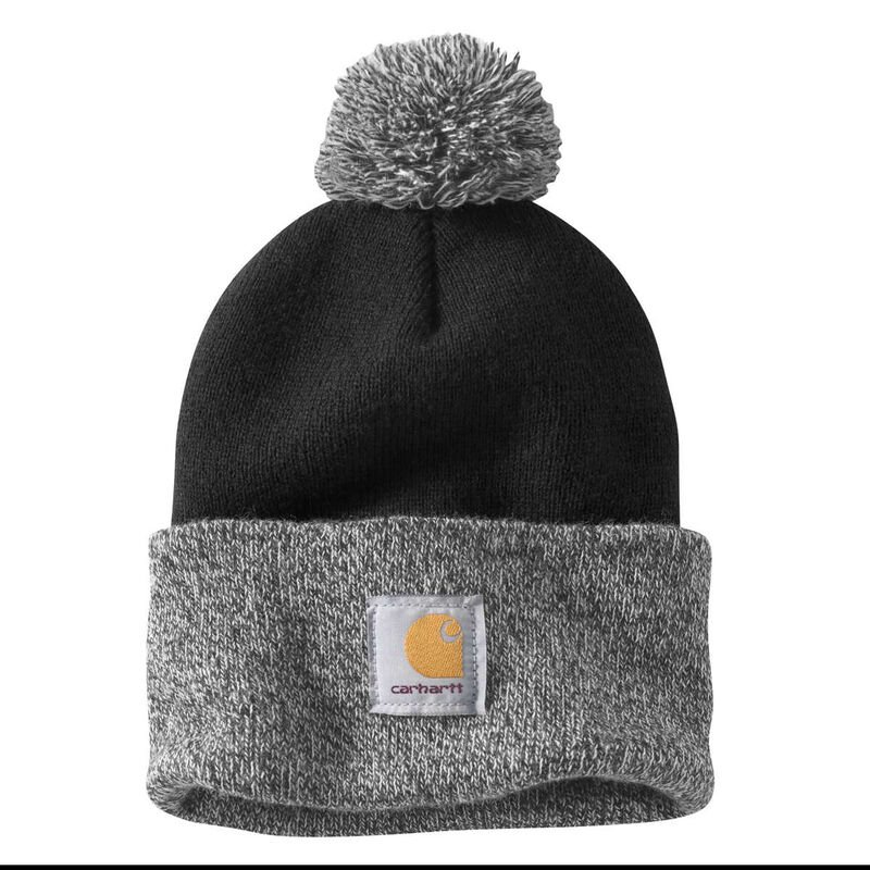 Carhartt Women's Lookout Acrylic Pom Pom Hat image number 1