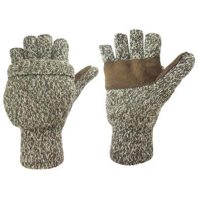 HOT SHOT Insulated Ragg Wool Pop-Top Mitten
