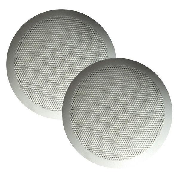 "Majestic SPK50 Ultra Slim 5"" Speakers 30W - White Pair"