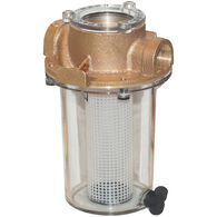 Groco ARG-750-P Bronze Strainer With Plastic Basket