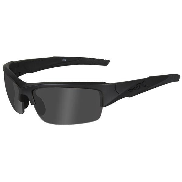 Wiley X Valor Sunglasses, Smoke Grey Lens/Matte Black Frame