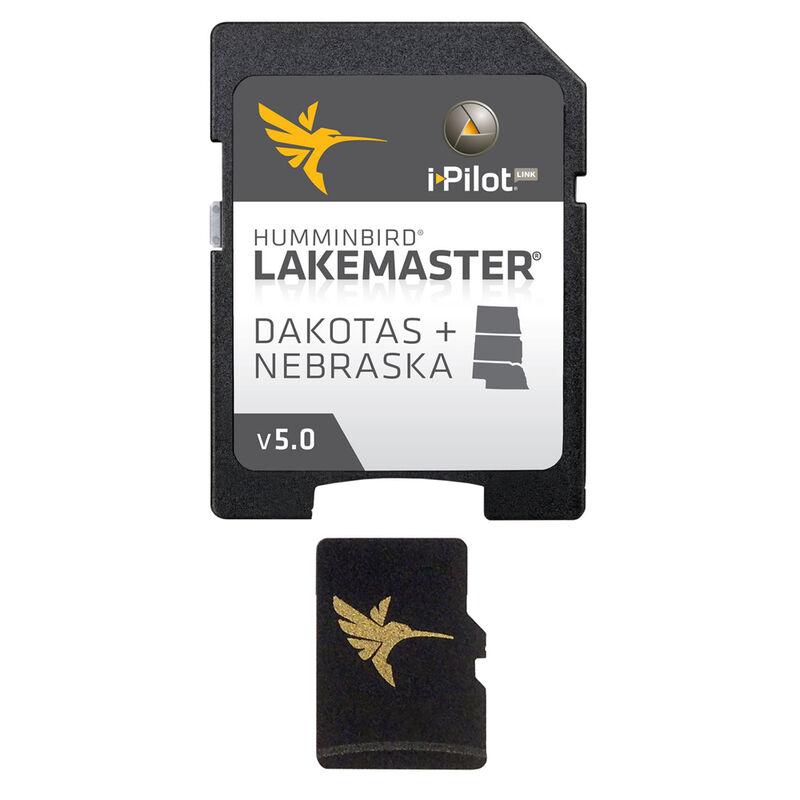 Humminbird LakeMaster Chart MicroSD/SD Card, Dakotas/Nebraska image number 1