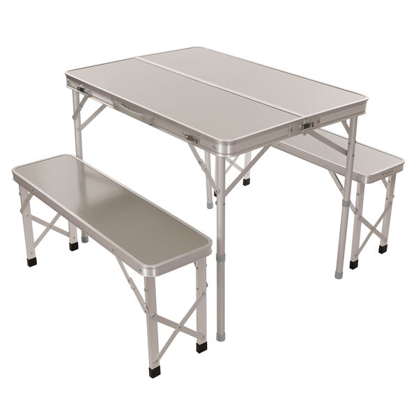 Portable Picnic Table with Benches
