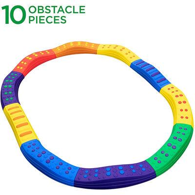 Sunny & Fun Balance Beam Obstacle Course 10 Piece Set