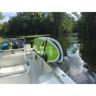Manta Racks S2 White Double Paddleboard Rack For 1-15° &1-30° Rod Holders