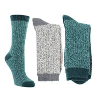 Columbia Women's Micro Rib Crew Socks, 2-Pack