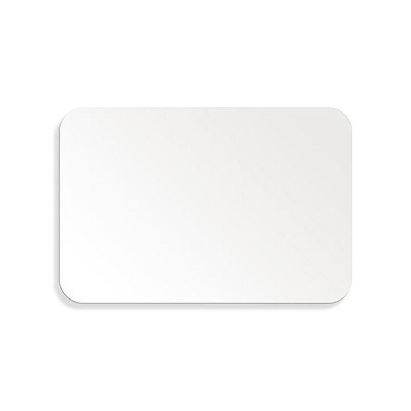 "Metalcraft White Aluminum Sign, 12"" x 18"" image number 1"