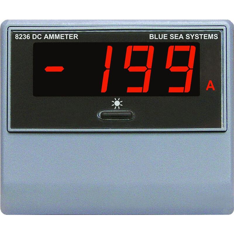 Blue Sea DC Digital Ammeter + Shunt, -500 to +500A image number 1