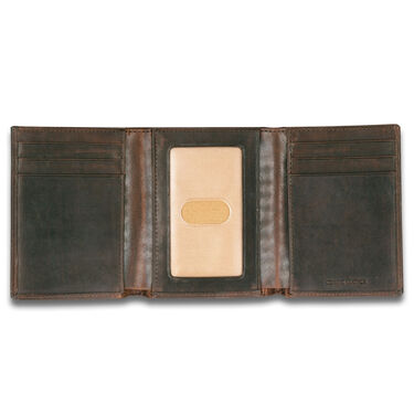 Carhartt Men's Oil Tan Trifold Wallet