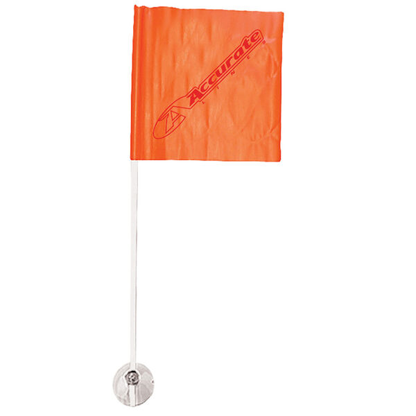 HO Skier Down Flag with Suction Cup Base