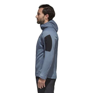 Adidas Men's Terrex Stockhorn Fleece Full-Zip Hoodie