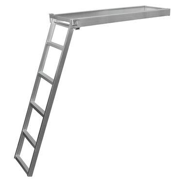 Dockmate Under-Deck Pontoon Boat Ladder, 5-Step