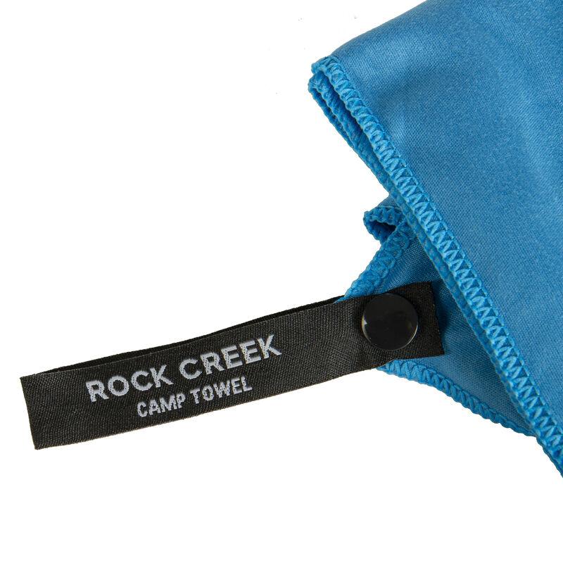 Rock Creek Blue Microfiber Camp Towel, Extra Large image number 5