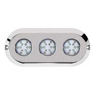 Marine Sport HydroBLAST 3-POD Underwater 180W LED Lighting System, RGB Multi-Color