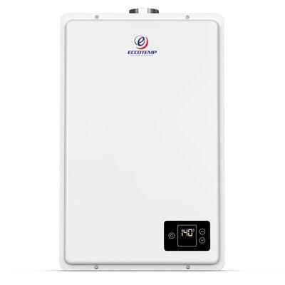Eccotemp 20Hi Indoor Natural Gas Tankless Water Heater with Horizontal Vent Kit