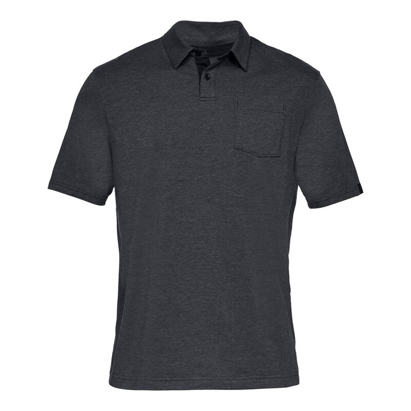 Under Armour Men's Charged Cotton Scramble Polo image number 6