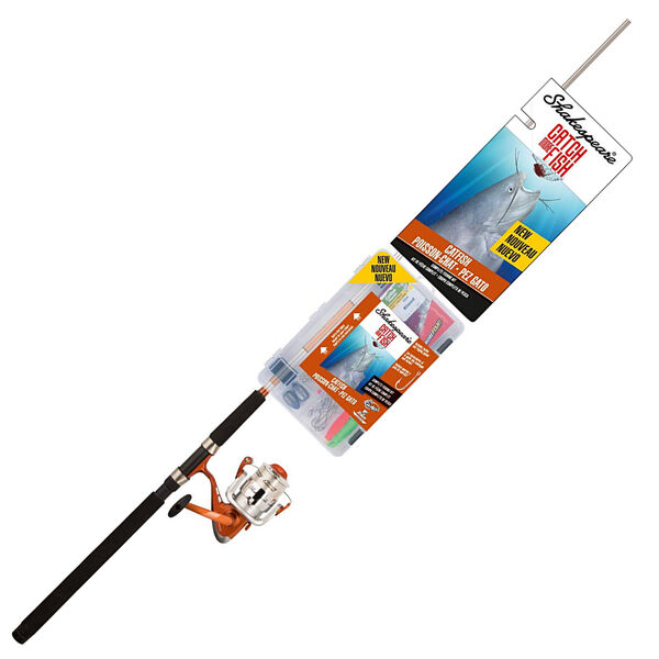 Shakespeare Catch More Fish Surf/Pier Spinning Rod And Reel Combo