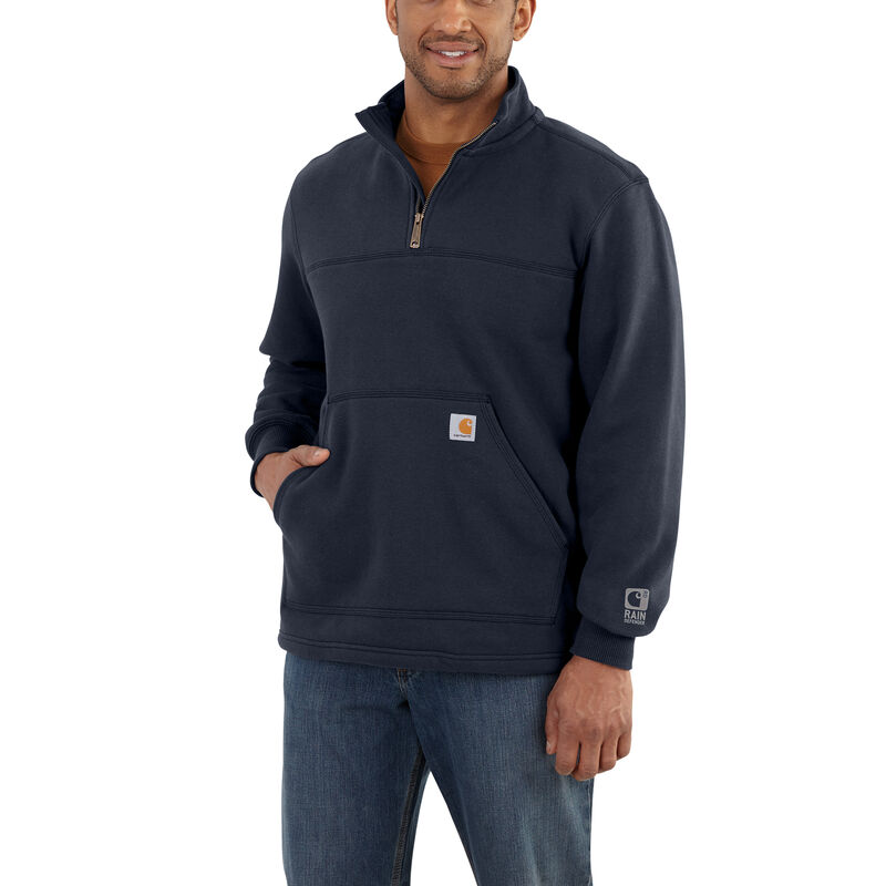 Carhartt Men's Rain Defender Paxton Heavyweight Quarter-Zip Sweatshirt image number 2