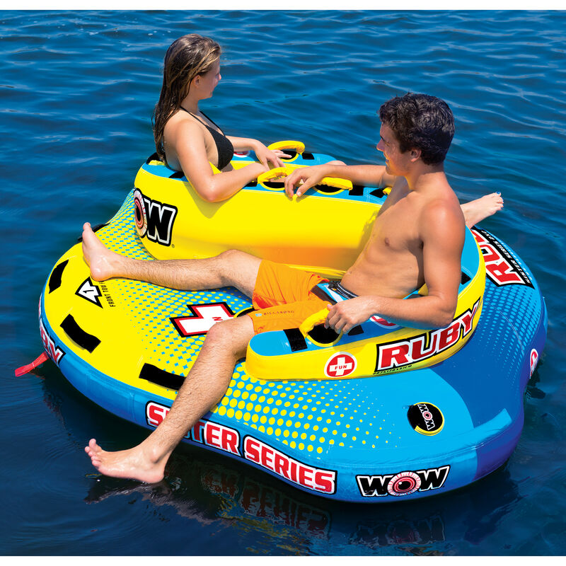 WOW Sister Ruby 2-Person Towable Tube image number 3