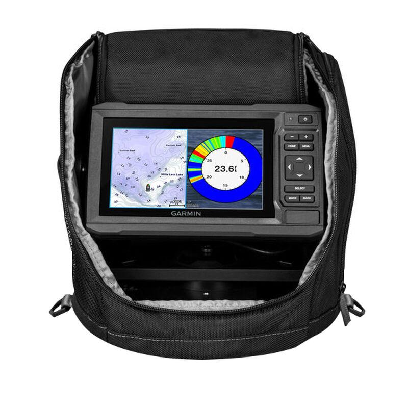 Garmin ECHOMAP Plus 63cv Ice Fishing Bundle with GT8HW-IF Transducer image number 1