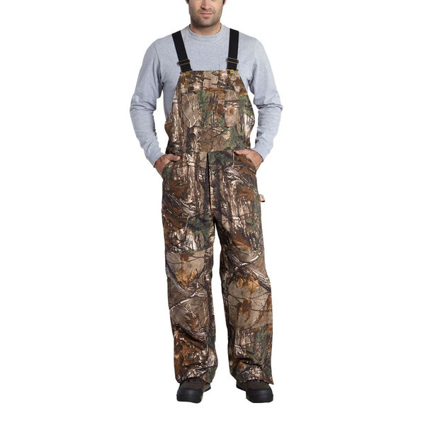 Carhartt Men's Quilted Lined Bib Overalls