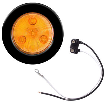 """Optronics LED 2-1/2"""" Round Marker And Clearance Light With Multiple Diodes"""