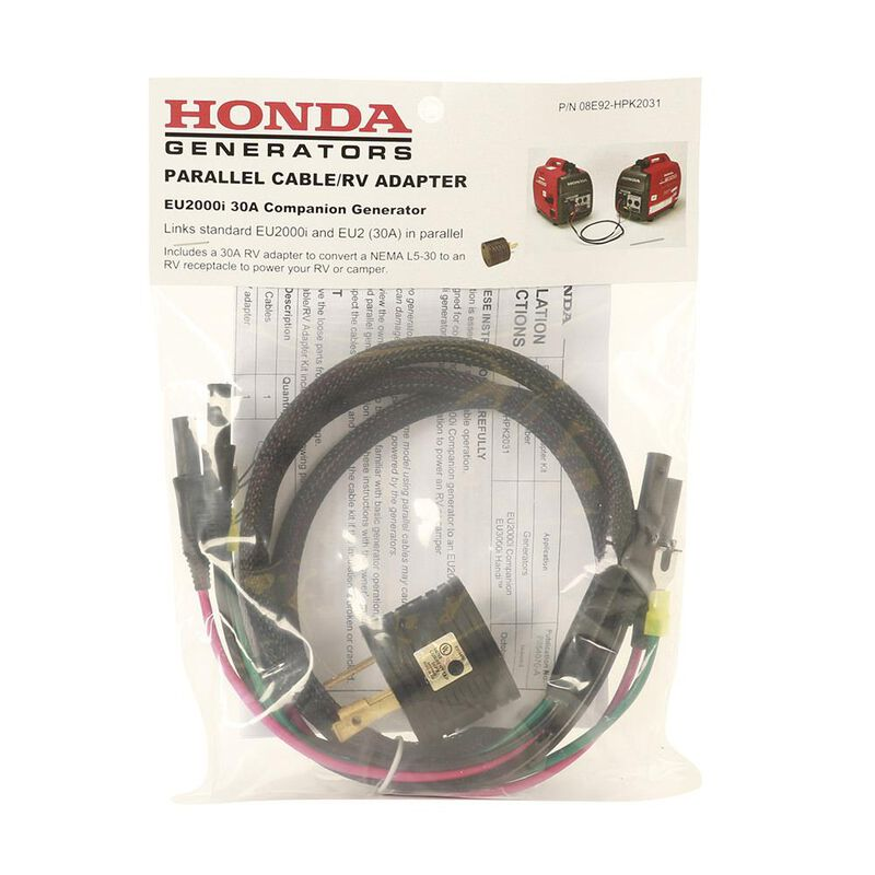 Honda Parallel Cables with 30-Amp Adapter Kit image number 3