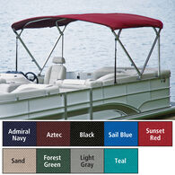 "Traditional Pontoon Bimini Top SurLast Polyester 1-1/4"" Standard Frame 96""-102""W"
