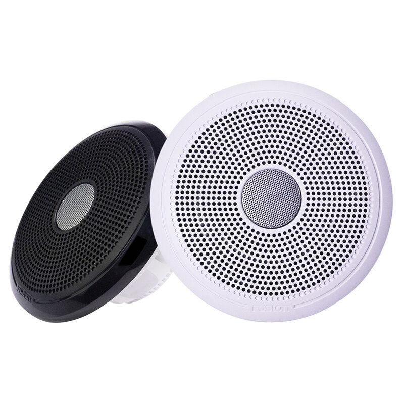 "FUSION XS-F40CWB XS Series 4"" 120 Watt Classic Marine Speakers - White & Black Grill Options image number 1"