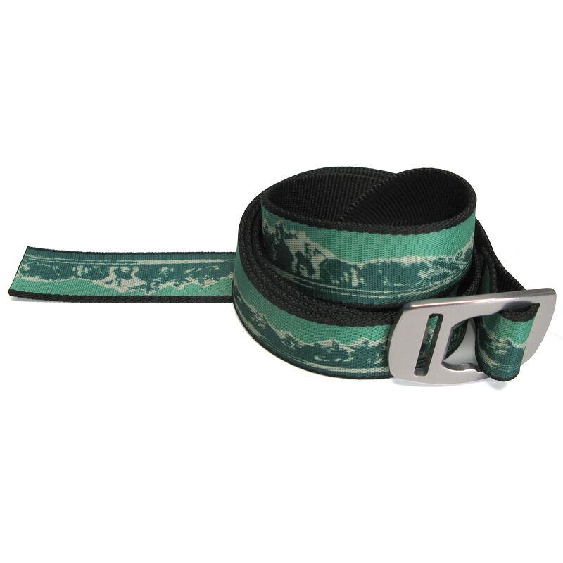 Croakies Men's Artisan 1 Belt With Bottle Opener Buckle image number 3