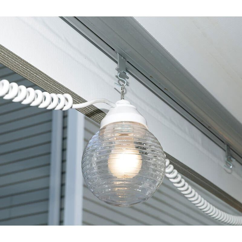 6 Clear Globe Lights with 30' Cord image number 3
