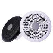 """FUSION XS-F77CWB XS Series 7.7"""" 240 Watt Classic Marine Speakers - White & Black Grill Options"""