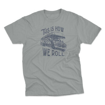 The Stacks Men's How We Roll Short-Sleeve Tee