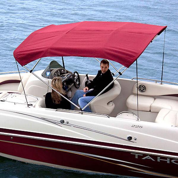 Shademate Sunbrella Stainless 4-Bow Bimini Top 8'L x 54''H 61''-66'' Wide