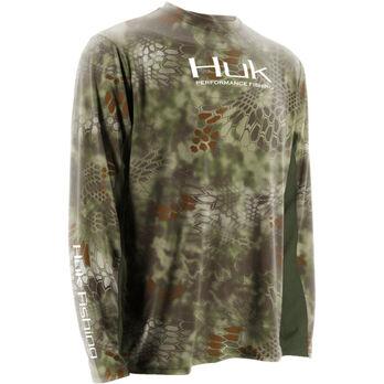 Huk Men's Kryptek Icon Long-Sleeve Tee