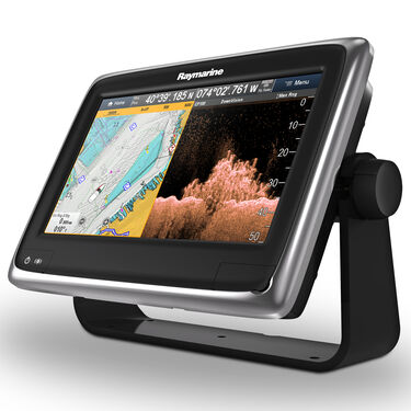 """Raymarine a98 9"""" MFD Combo With CPT-100 TM Transducer And US C-MAP Charts"""